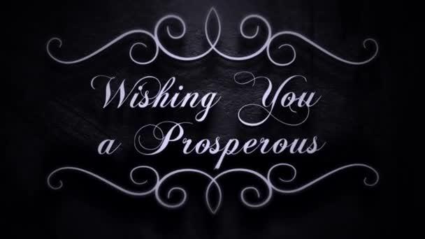 Wishing You a Prosperous New Year