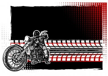 Motorcycle Poster Background