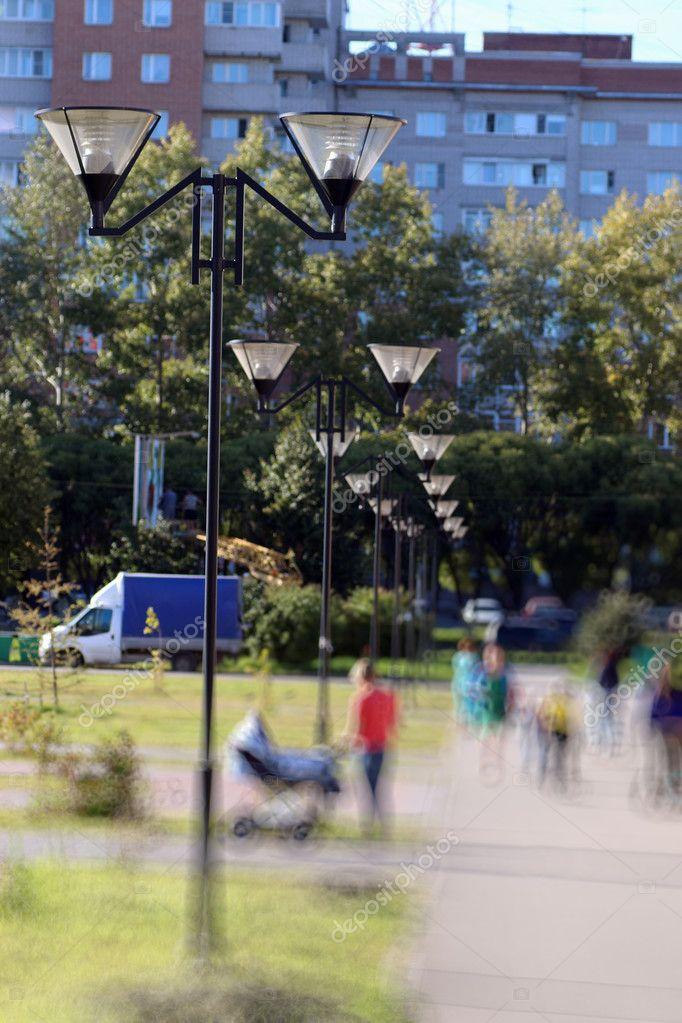 children's park lampposts sammer