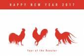 Rok kohouta novoroční přání