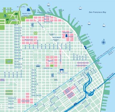 San Francisco city map