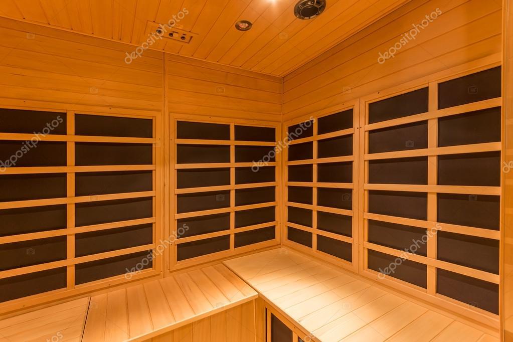 cabina sauna a raggi infrarossi — foto stock © domkrugom #95189640