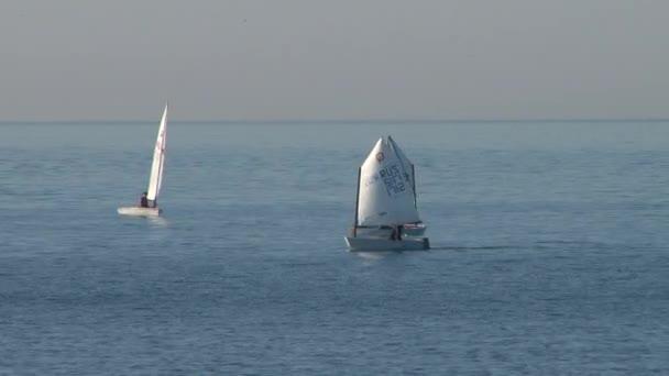 Sailing regatta in the waters of the Black Sea city of Sochi