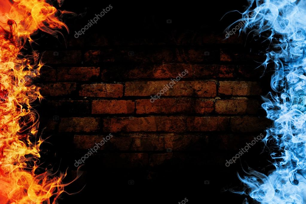 Abstract fire flame background — Stock Photo © oat.s #92308520