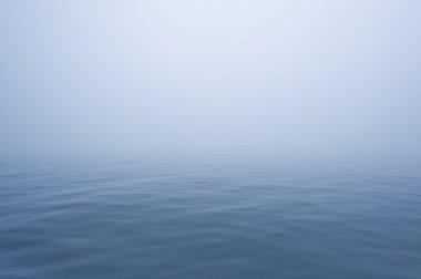 sea fog calm water