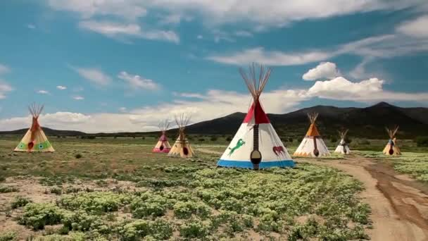 Indiai Tepees a vadnyugat