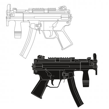 Mp 5 Machine pistol