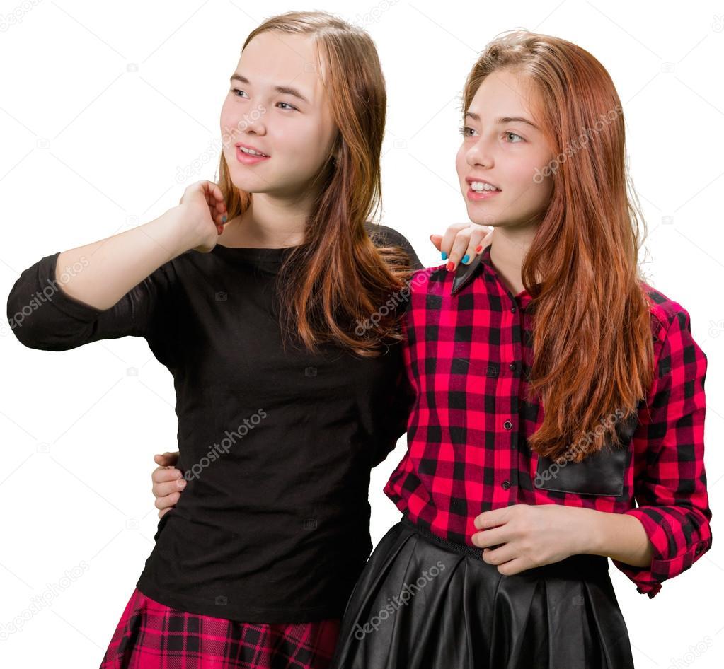 dospívající černé dívky