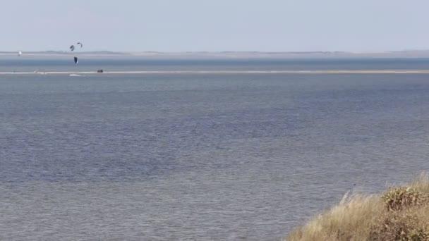 Kitesurfing Kite Surf Seeküste Strand Welle Gezeiten Meer Küste Ozean
