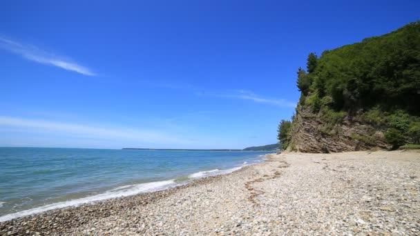 Black sea coast beach wave tide seashore ocean