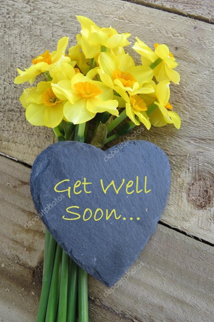 Get well soon Daffodils
