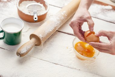 Hands and means for making bread