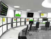 Fotografia centro operativo di rete