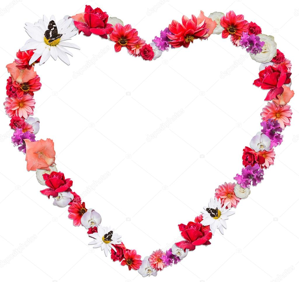 Linda Cora 231 227 O Feito De Diferentes Flores Sobre Fundo
