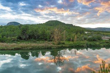 River near Vallat. Castelln