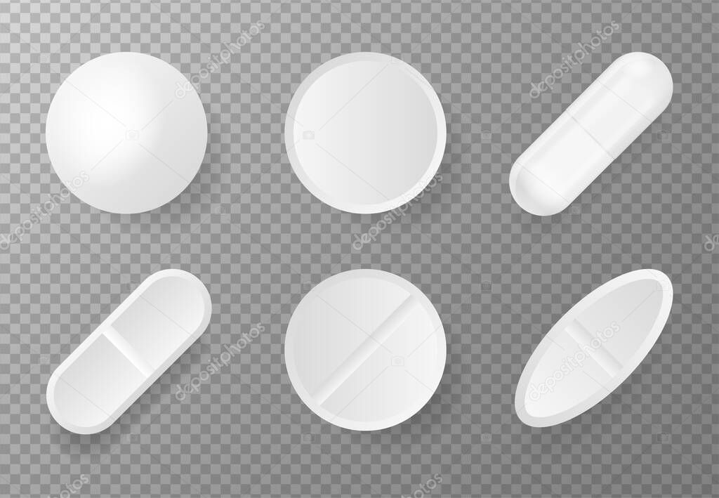 3d pack with pill mock up on white backdrop icon