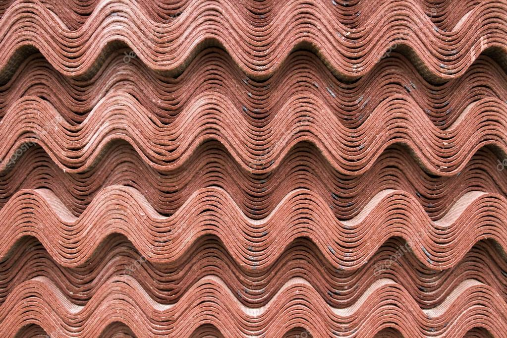 Building material sheet Ondulina Brown