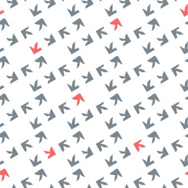 Pattern with arrows on the theme of delivery. Vector. icon