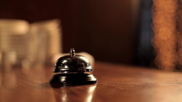 Chef Calling Waiter Using Service Bell
