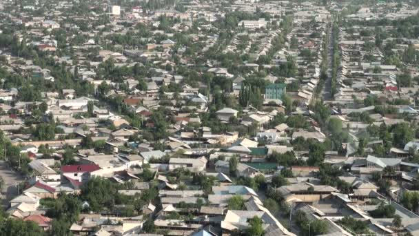 Overview of the streets of Osh