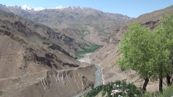 Beautiful vista over Tajikistan
