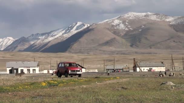 Alichurské město ve vzdáleném Tádžikistánu