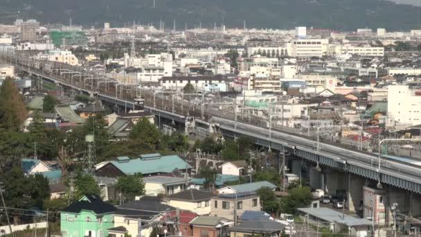 Bullet vlak Shinkansen Odawara
