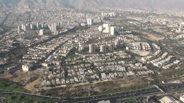 panorama města Teherán