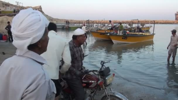 Small fishing village in Iran.