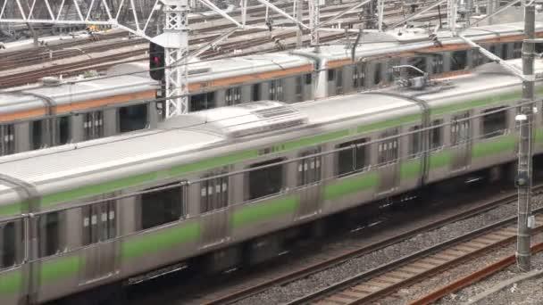 Pendlerzüge in Tokio