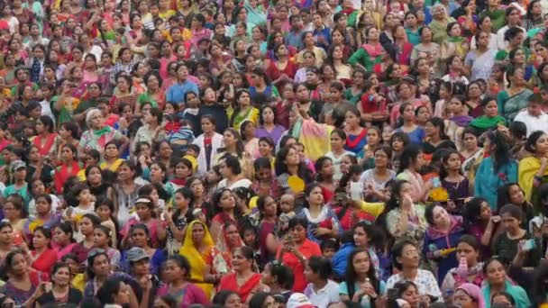Colorful group of Indian women