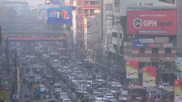 provoz přes ulici v Dháce
