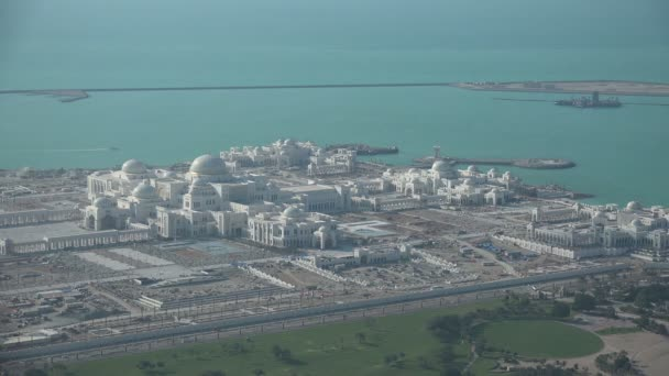 Overview of the Presidential Palace in Abu Dhabi