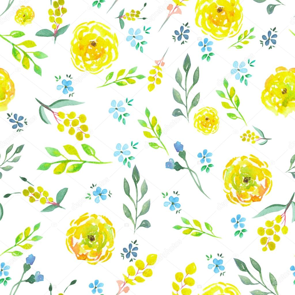 blue flower pattern flowers ideas for review