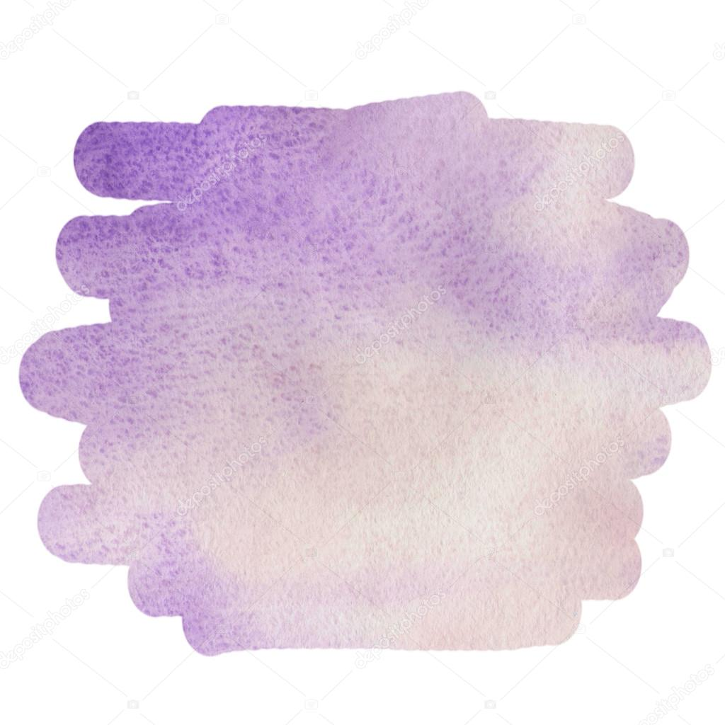Watercolor purple background for text