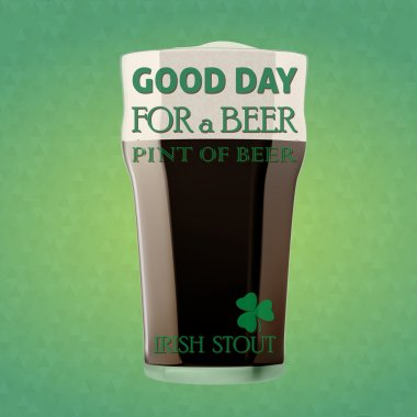 GOOD DAY FOR A BEER - IRISH STOUT