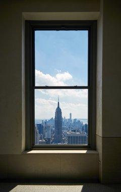 Manhattan view from a window