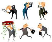 Six businessmen set