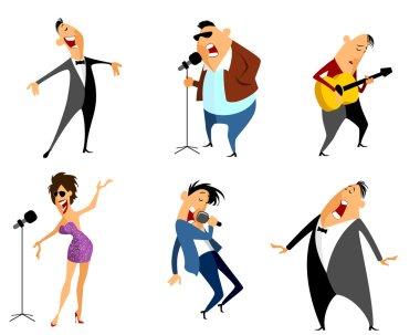 Six singers set