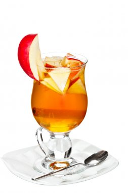 Hot alcoholic cocktail