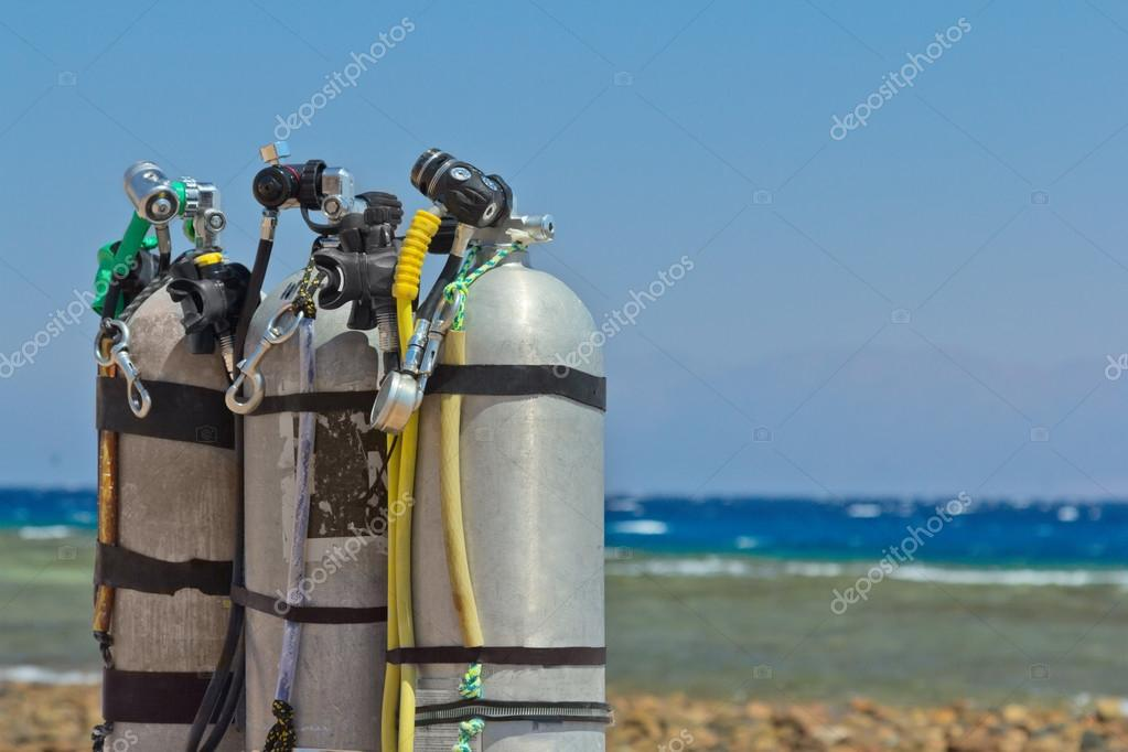 Air tanks for diving