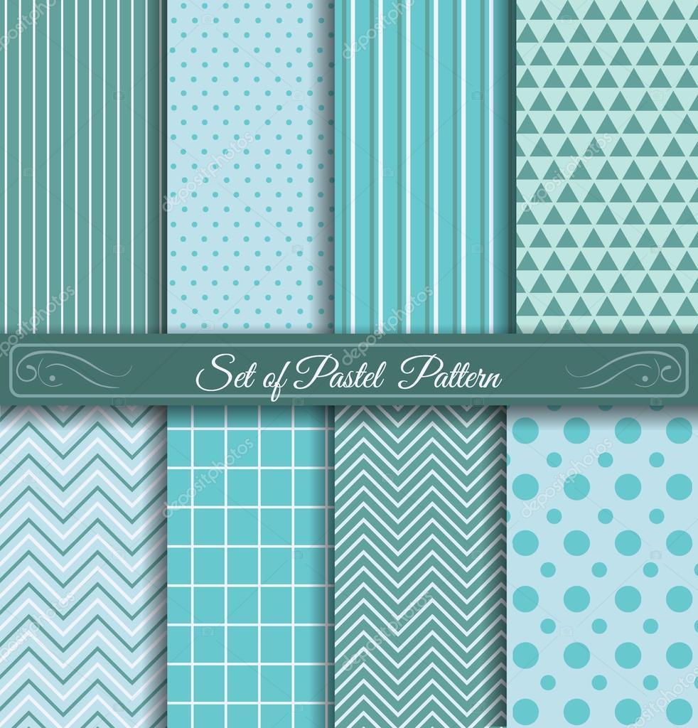 Set Of Pastel Light Blue Pattern Stock Vector C Soykinakv 77308796 - Light-pastel-blue-coloring-page