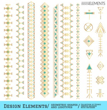 Set of geometric hipster shapes and logotypes1zz488851e