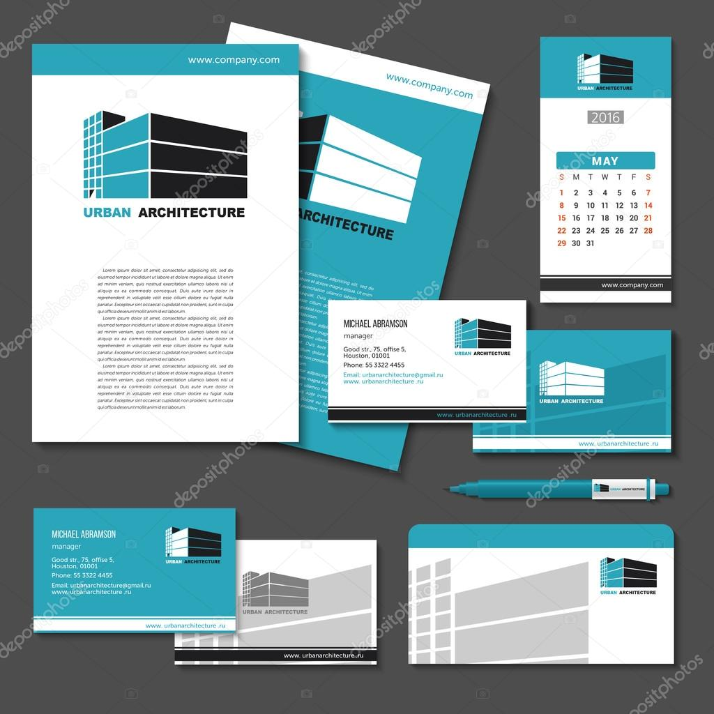 Business cards pens envelopes flash card banner calendar wi business cards pens envelopes flash card banner calendar with the company logo a set of templates brand style buildings offices hotels reheart
