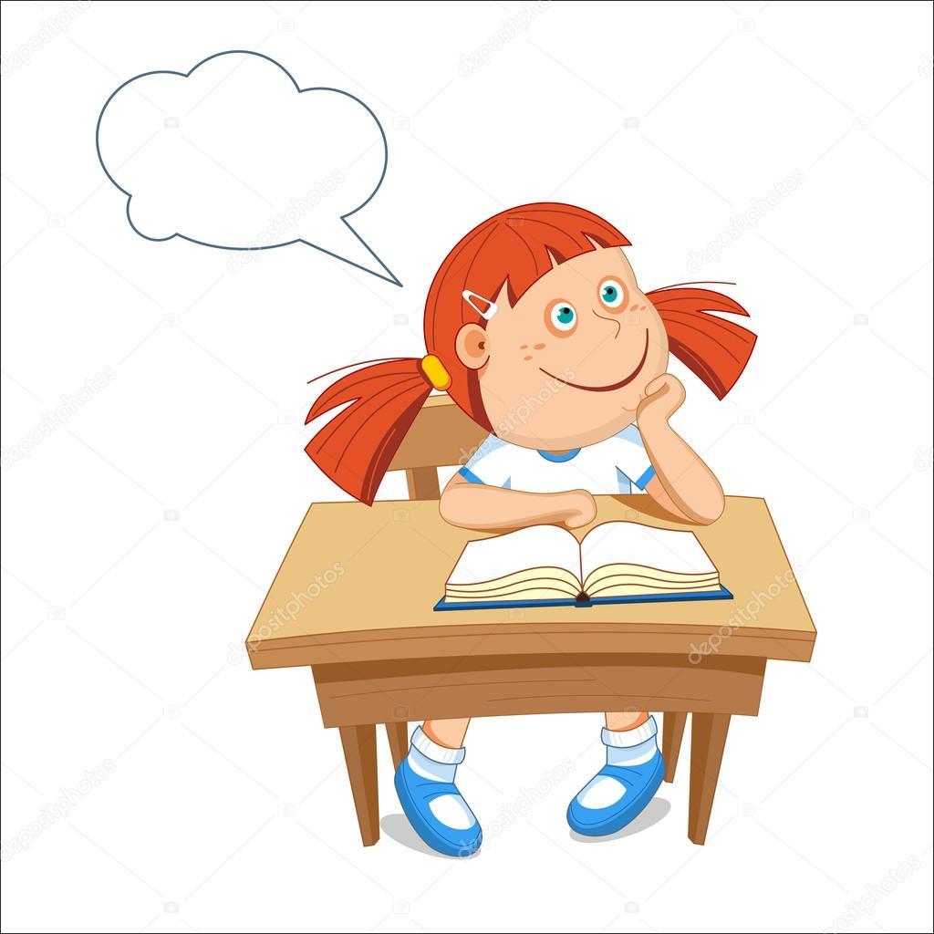 masada oturan kız kız 246ğrenci tablo kitap vekt246r 231izim
