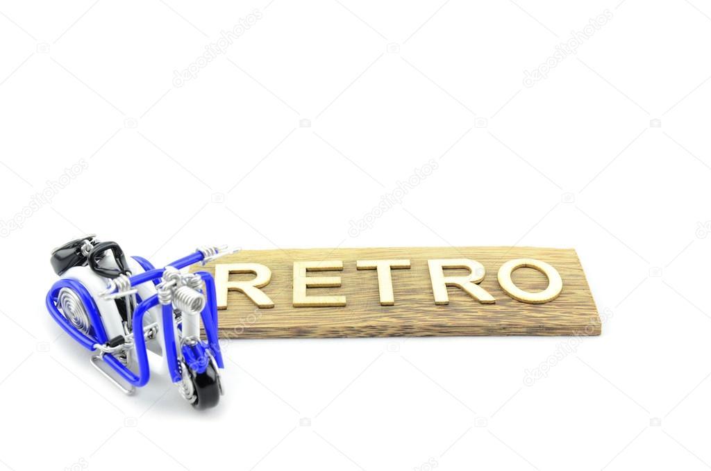 Handwerk modern classic Roller hergestellt aus Weißen, blauen und ...