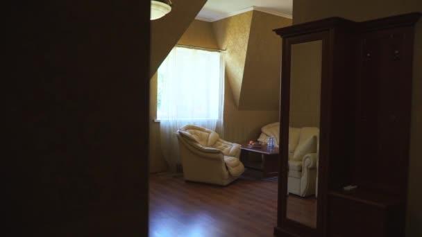 Vnitřní prostor hotelového pokoje