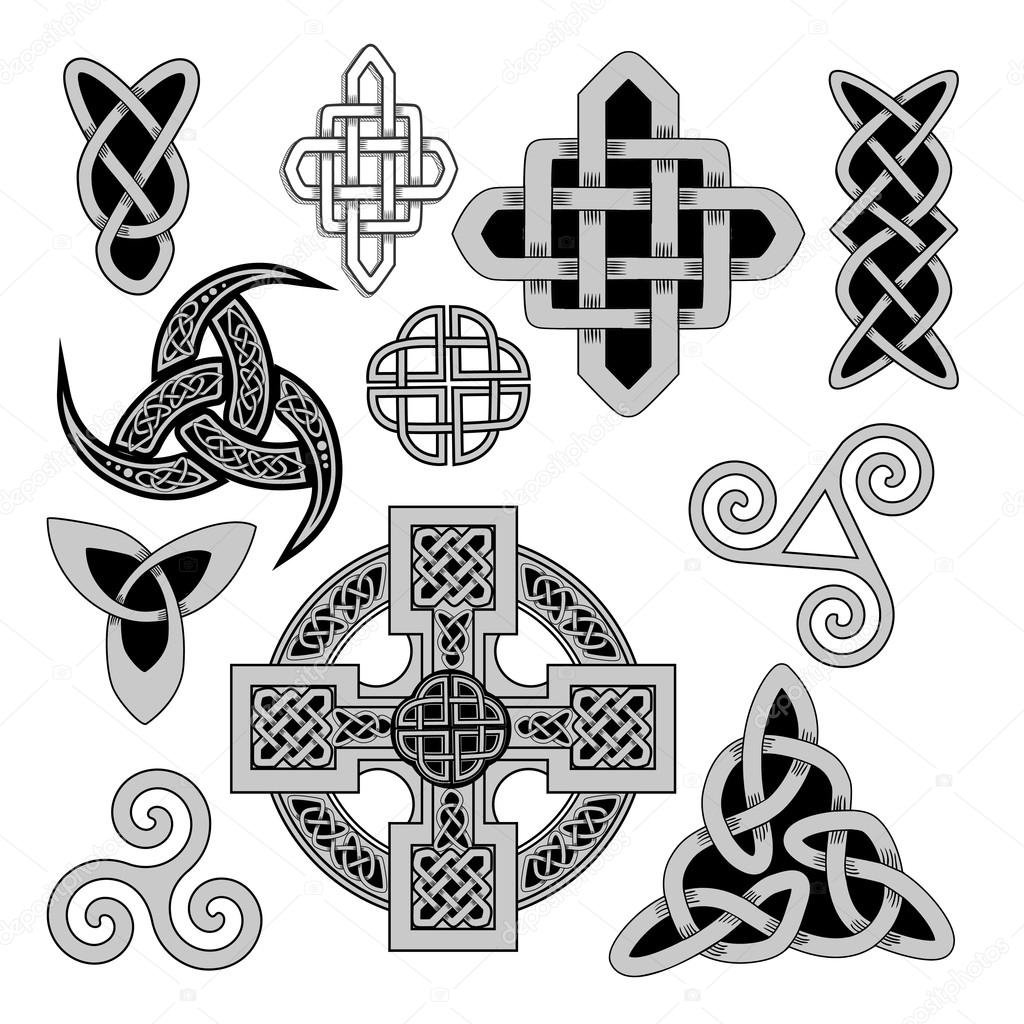 Celtic folk ornament