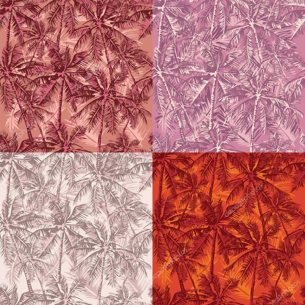 tropical pattern set