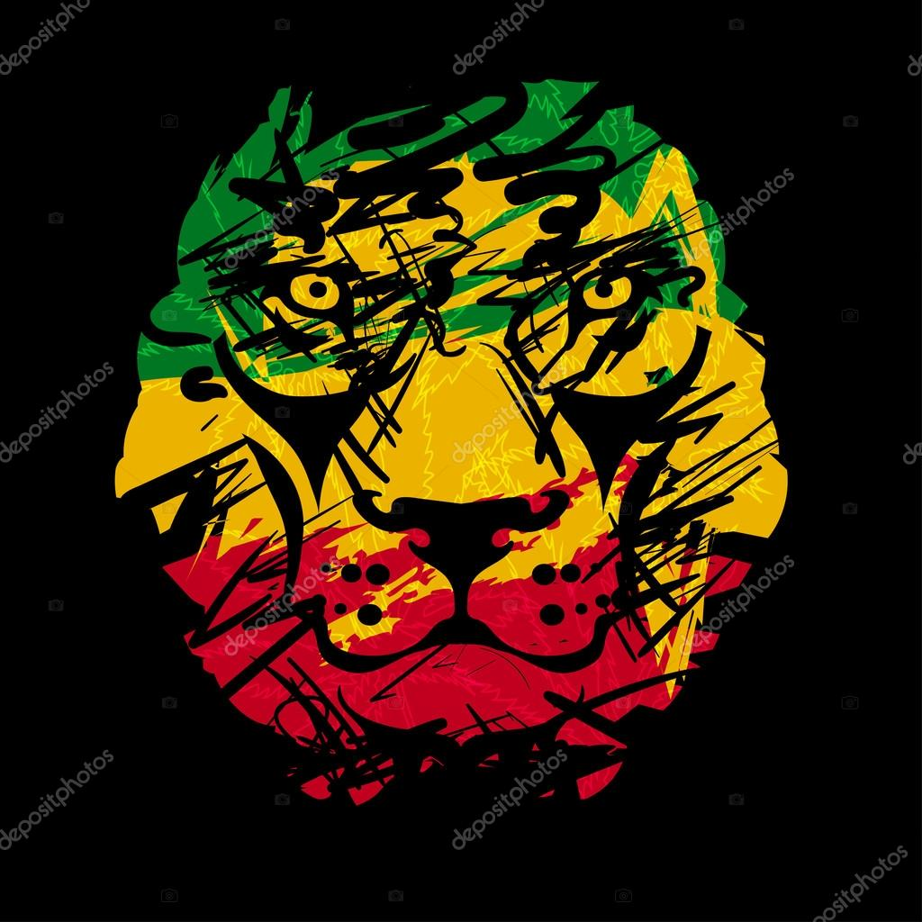 Rastafarian 2: Vetor De Stock © YulianaS #103958768